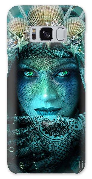 Sister Green Eyes Galaxy Case