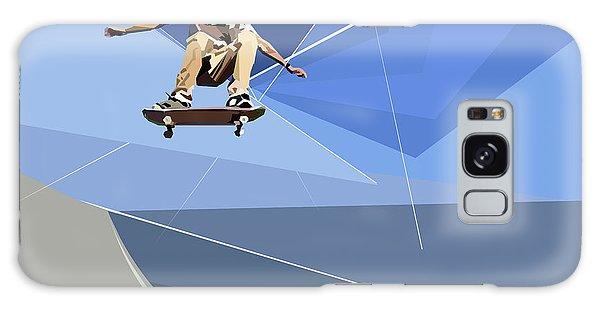 Skateboarder Galaxy Case