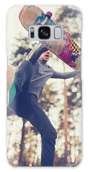 Active Galaxy Case - Skater Guy Jumps by Aleshyn andrei