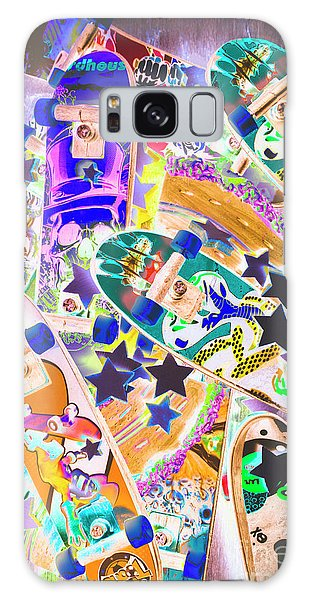 Board Galaxy Case - Skating Stars by Jorgo Photography - Wall Art Gallery