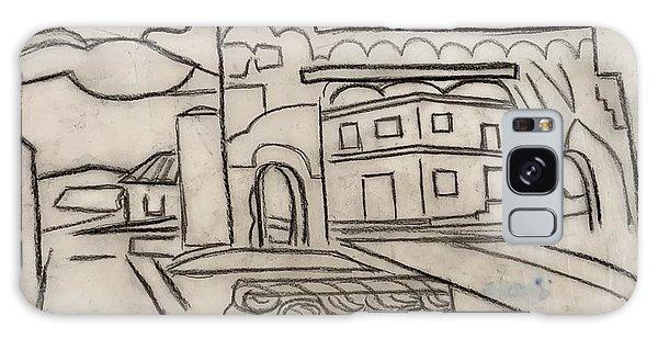 Sketch Of Arch Laguna Del Sol Galaxy Case