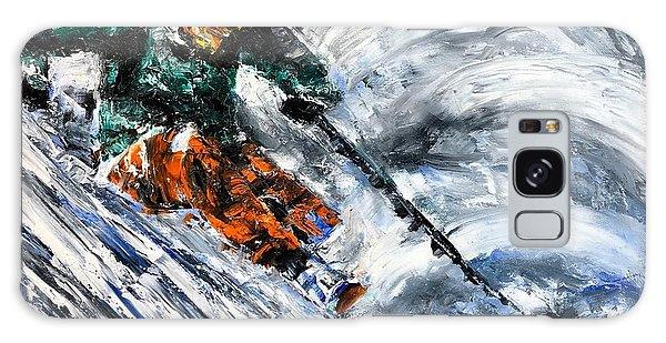 Ski Contemporary Fine Art Galaxy Case
