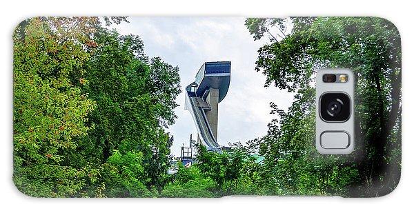 Ski Jump Tower Galaxy Case