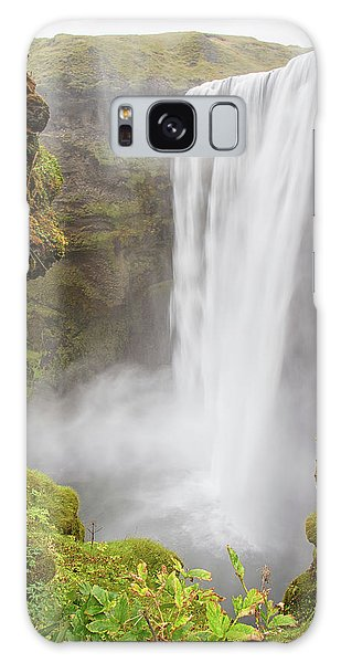 Galaxy Case featuring the photograph Skogafoss Iceland by Nathan Bush