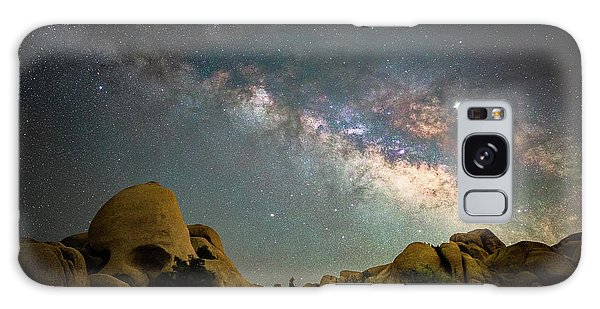Astro Galaxy Case - Skull Rock And Milky Way by Davorin Mance