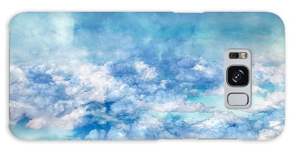 Sky Moods - A View From Above Galaxy Case