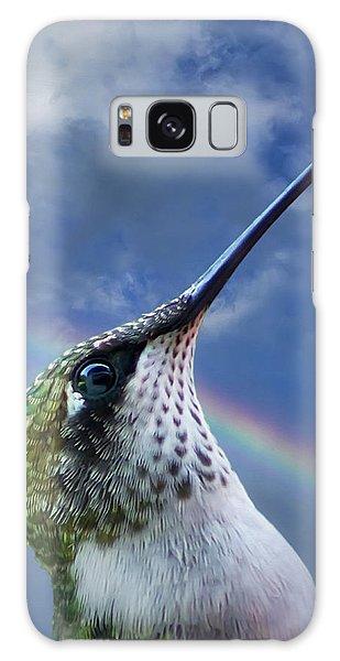 Hummingbird Galaxy S8 Case - Sky Trooper by Jerry LoFaro