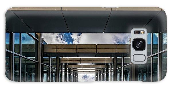Galaxy Case featuring the photograph Sky Tunnel by Randy Scherkenbach