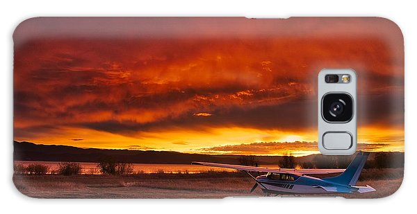 Skylane Sunrise Galaxy Case