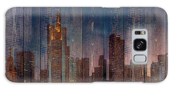 Skyline Of Frankfurt, Germany On Wood Galaxy Case