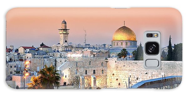 Western Galaxy Case - Skyline Of The Old City At He Western by Esb Professional