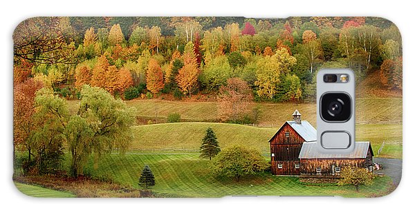 Sleepy Hollow Barn In Autumn Galaxy Case