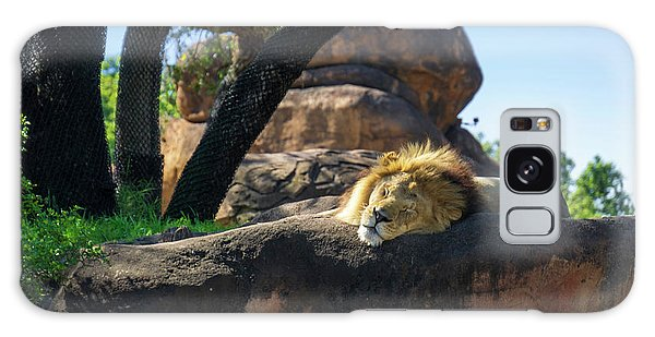 Sleepy Lion Galaxy Case