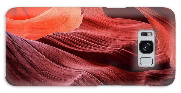Slot Canyon Waves 2 Galaxy Case