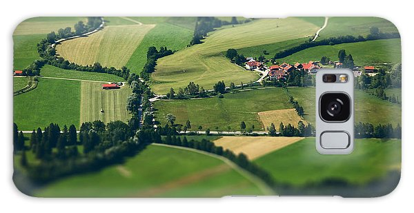 Countryside Galaxy Case - Small Bavarian Village In A Fields by Dudarev Mikhail