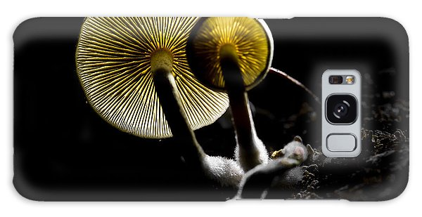 Tasty Galaxy Case - Small Fungus Growing On The Dead Wood by Martin Janca