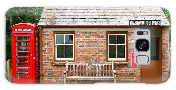Brick House Galaxy Case - Small Traditional Brick Building With by Tazzymoto