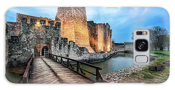 Smederevo Fortress Gate And Bridge Galaxy Case