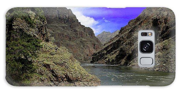 Snake River Hells Canyon Galaxy Case