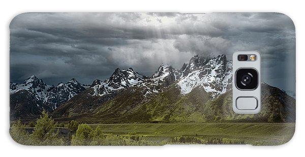 Teton Range Galaxy Case - Snake River Tetons by Jon Glaser
