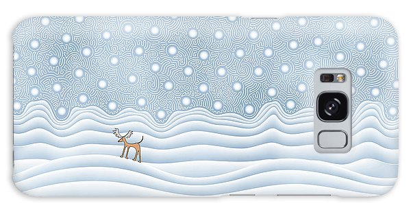 Snow Day Galaxy Case