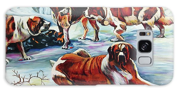 Snow Dogs Galaxy Case