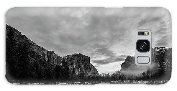 White Mountain National Forest Galaxy Case - Snow In Yosemite Valley II by Jon Glaser