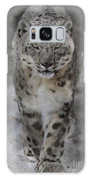 Snow Leopard II Galaxy Case
