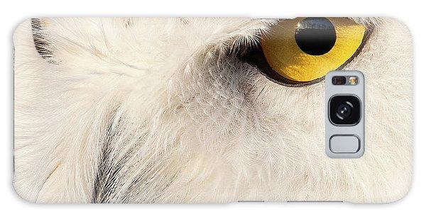 Snow Owl Eye Galaxy Case
