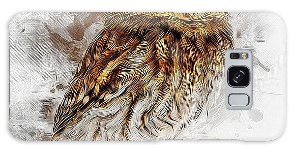 Snow Owl Galaxy Case
