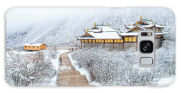 Ice Galaxy Case - Snow Season In China by Phraisohn Siripool