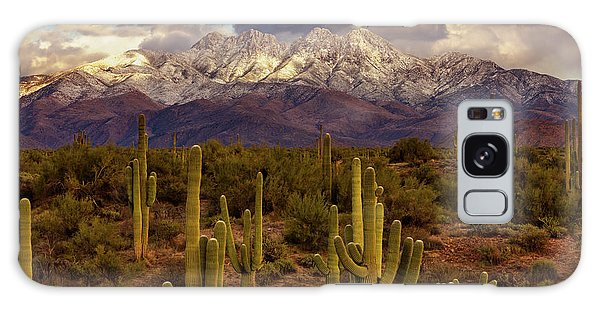 Galaxy Case featuring the photograph Snowy Dreams by Rick Furmanek