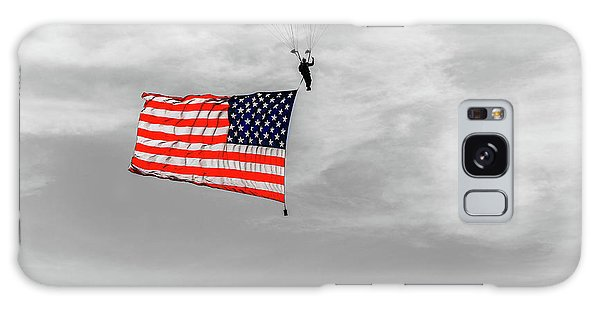 Socom Flag Jump In Selective Color Galaxy Case