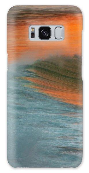 Soft Wave Galaxy Case