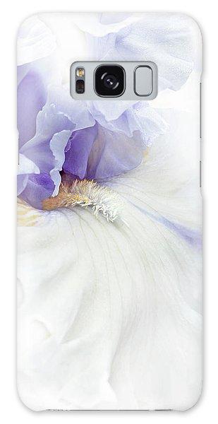 Softness Of A Lavender Iris Flower Galaxy Case