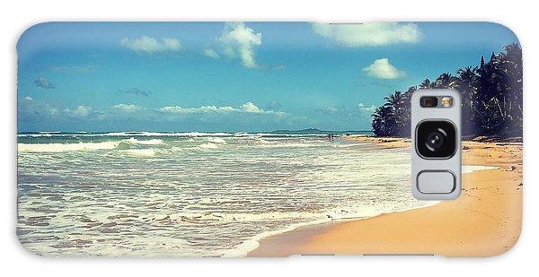 Solitude Beach Galaxy Case