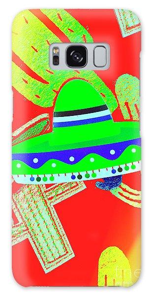 Cacti Galaxy Case - Sombrero Salsa by Jorgo Photography - Wall Art Gallery