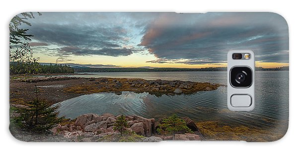 Galaxy Case featuring the photograph Somes Sound Sunset by Rick Hartigan