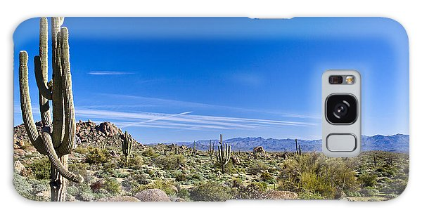 Southwest Usa Galaxy Case - Sonoran Desert Landscape In Scottsdale by Tom Roche