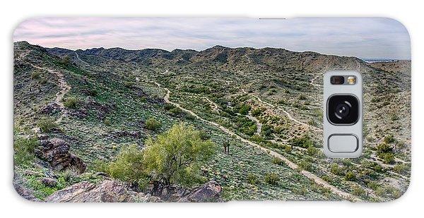 South Mountain Landscape Galaxy Case