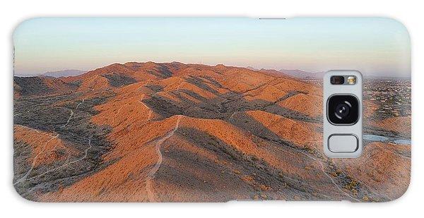 South Mountain Sunrise Galaxy Case