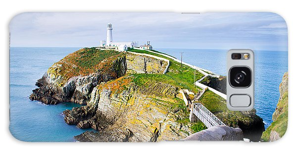 Navigation Galaxy Case - South Stack Lighthouse In Anglesey by Juliuskielaitis