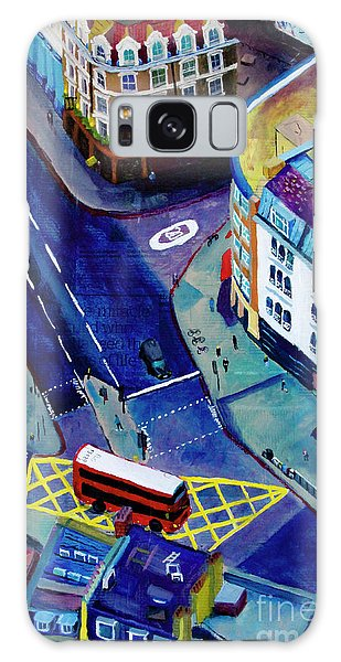 Traffic Signals Galaxy Case - Southwark And Stoney by Marina McLain