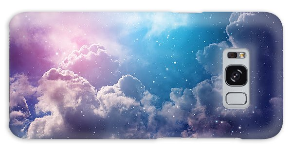 Expanse Galaxy Case - Space Of Night Sky With Cloud And Stars by Nednapa