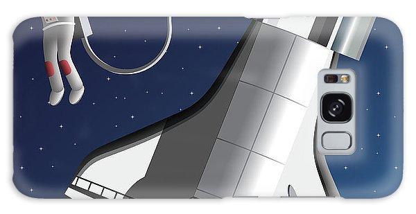 Spaceship Galaxy Case - Space Walk by Nikola Knezevic
