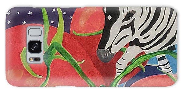 Space Zebra Galaxy Case
