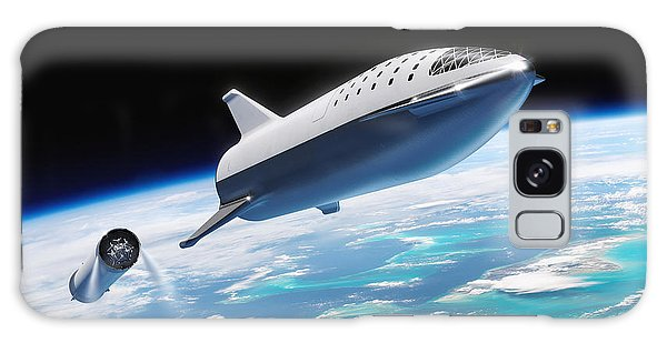 Milky Way Galaxy Case - Spacex Bfr And Bfs  by Filip Hellman
