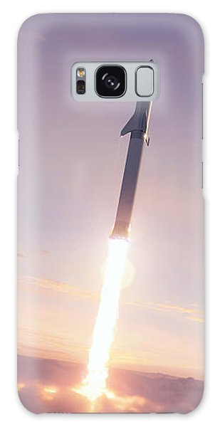 Milky Way Galaxy Case - Spacex Bfr Through The Clouds by Filip Hellman