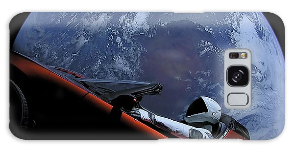 Milky Way Galaxy Case - Spacex Driving Around Earth by Filip Hellman
