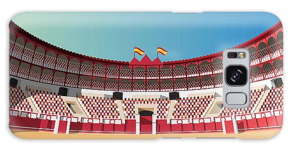 Horizontal Galaxy Case - Spanish Bullfight Arena by Nikola Knezevic